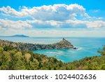 beautiful summer sea landscape...   Shutterstock . vector #1024402636