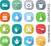 flat vector icon set   iron... | Shutterstock .eps vector #1024411912