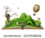 Isolated Spring Illustration...
