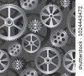 abstract mechanical background  ... | Shutterstock . vector #1024443472