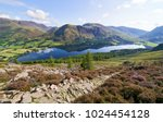 views of lake buttermere on... | Shutterstock . vector #1024454128