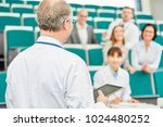 medical school lecturer teach... | Shutterstock . vector #1024480252