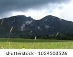 Small photo of View to the summit Savin kuk in national park Durmitor in Montenegro