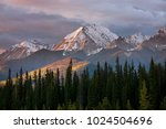 picturesque mountain view in... | Shutterstock . vector #1024504696