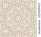 seamless oriental pattern. | Shutterstock .eps vector #1024509415