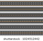 horizontal asphalt roads. long... | Shutterstock .eps vector #1024512442
