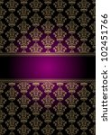 Vector Purple And Gold...