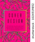 geometric coverage corporate... | Shutterstock .eps vector #1024519852
