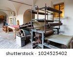 fabriano  marche  italy  ... | Shutterstock . vector #1024525402