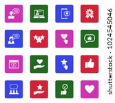feedback and review icons.... | Shutterstock .eps vector #1024545046