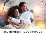 time to sleep. positive nice... | Shutterstock . vector #1024549126