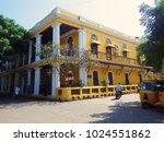 pondicherry  india   march 2016 ...   Shutterstock . vector #1024551862