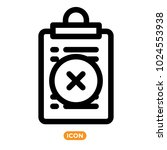 vector icons of list