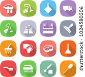 flat vector icon set   factory... | Shutterstock .eps vector #1024580206