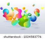 geometric vector colorful lines ...   Shutterstock .eps vector #1024583776
