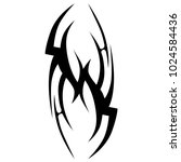 tattoo tribal vector design. | Shutterstock .eps vector #1024584436
