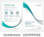 brochure template flyer design...   Shutterstock .eps vector #1024594336