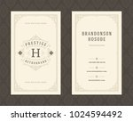luxury business card and... | Shutterstock .eps vector #1024594492
