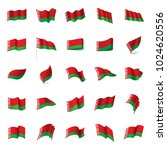 belarus flag  vector... | Shutterstock .eps vector #1024620556