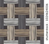 seamless geometric pattern.... | Shutterstock .eps vector #1024624036