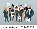 abstract business banner design ... | Shutterstock .eps vector #1024625332