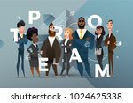abstract business banner design ... | Shutterstock .eps vector #1024625338