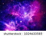 bursting galaxy   elements of... | Shutterstock . vector #1024633585