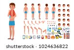 man in swimsuit vector.... | Shutterstock .eps vector #1024636822
