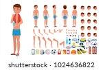 man in swimsuit vector.... | Shutterstock .eps vector #1024636822