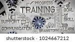 macro photo of tooth wheel...   Shutterstock . vector #1024667212