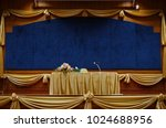 venue for the seminar   Shutterstock . vector #1024688956