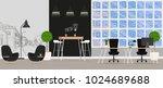 office interior. vector... | Shutterstock .eps vector #1024689688