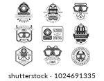 scuba diving underwater... | Shutterstock .eps vector #1024691335