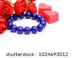 beautiful high grade royal blue ... | Shutterstock . vector #1024693012