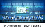 business team work success... | Shutterstock .eps vector #1024716568
