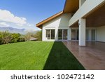 beautiful family home | Shutterstock . vector #102472142