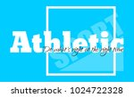 athletic. t shirt graphics.  | Shutterstock .eps vector #1024722328