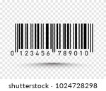 barcode vector illustration... | Shutterstock .eps vector #1024728298