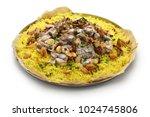 mansaf  jordanian national dish ... | Shutterstock . vector #1024745806