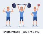 cute cartoon character  ...   Shutterstock . vector #1024757542