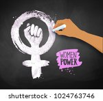 vector illustration of women's... | Shutterstock .eps vector #1024763746