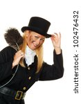 Woman As A Chimney Sweep. Good...
