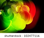 abstract vector shiny background | Shutterstock .eps vector #102477116