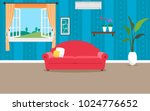 living room vector design   Shutterstock .eps vector #1024776652