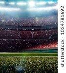 grand multisport arena... | Shutterstock . vector #1024781692