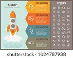 startup infographic options... | Shutterstock .eps vector #1024787938