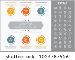 startup infographic template ... | Shutterstock .eps vector #1024787956