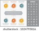 business success infographic... | Shutterstock .eps vector #1024795816