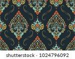 seamless pattern based on... | Shutterstock .eps vector #1024796092