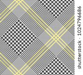 glen plaid pattern in classic...   Shutterstock .eps vector #1024796686
